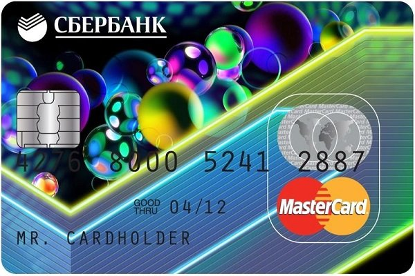 Сбербанк «Мастеркард»